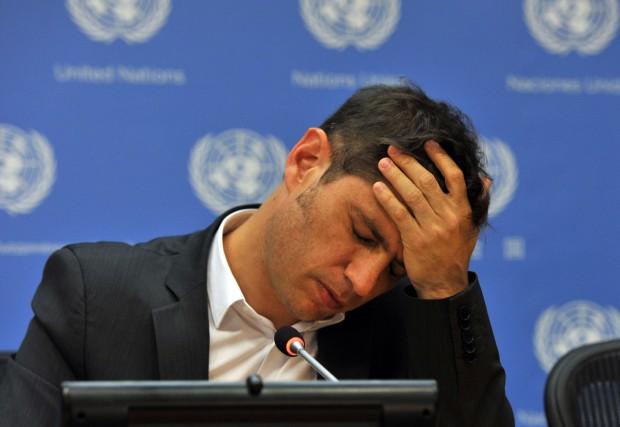 Le ministre argentin de l'ÉconomieAxel Kicillof... (PHOTO TIMOTHY  A. CLARY, ARCHIVES AFP)