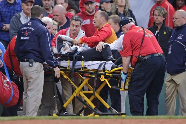 Tonya Carpentera subi des blessures d'abord décrites par... (PHOTO CHARLES KRUPA, ARCHIVES AP)