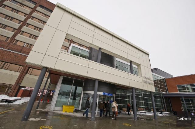 Le Copain se situe dans l'Hôpital de Gatineau.... (Martin Roy, Archives LeDroit)
