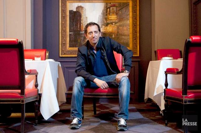 Né à Casablanca, Gad Elmaleha étudié et vécu... (La Presse, Alain Roberge)
