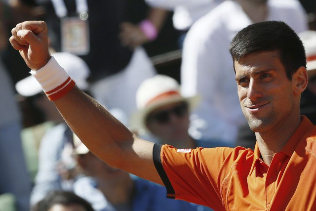 Novak Djokovic... (PHOTO PATRICK KOVARIK, AFP)