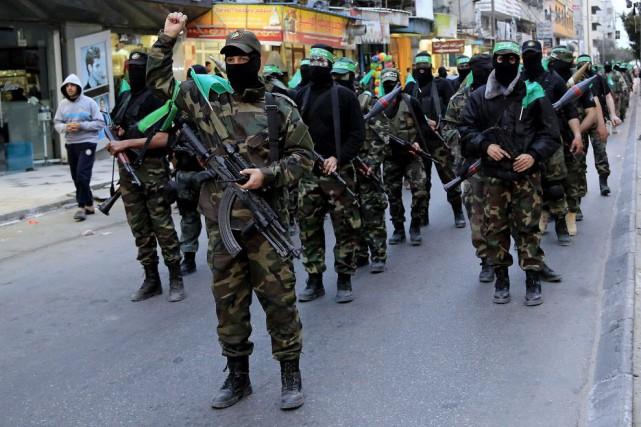 Le Hamas est considéré en Égypte comme la... (Photo Adel Hana, AP)