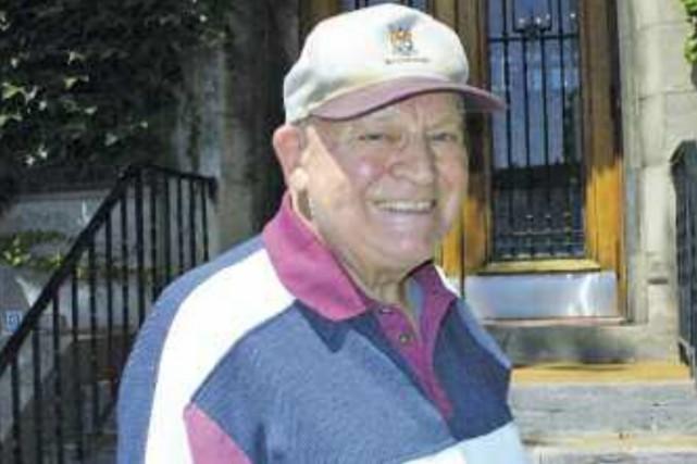 John Garland, mort en 2012, avait été à... (Photo fournie par Westmount Independent)