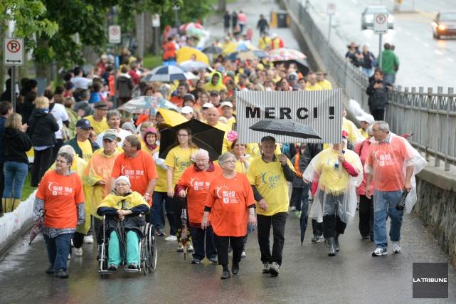 Autour de 1115 marcheurs ont participé au Relais... (IMACOM, Maxime Picard)