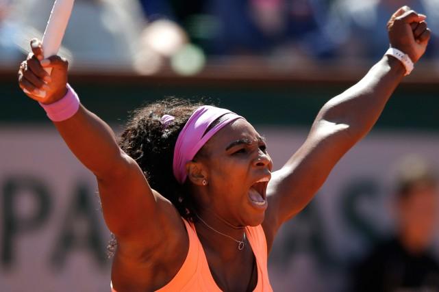 Serena Williams... (PHOTO FRANÇOIS MORI, AP)