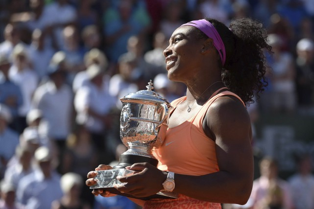 Serena Williams se rapproche encore davantage de la... (Agence France-Presse)