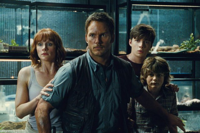 Au moment où Jurassic World s'apprête à prendre l'affiche, Chris Pratt... (Photo fournie par Universal Pictures)