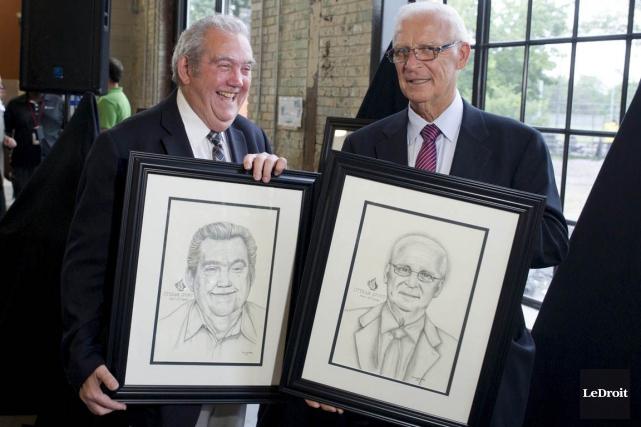 Charles Henry et Bryan Murray ont fait leur... (Martin Roy, LeDroit)