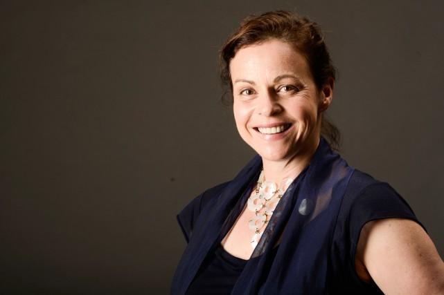 La comédienne Maude Guérin sera de la comédieUn... (PHOTO BERNARD BRAULT, LA PRESSE)