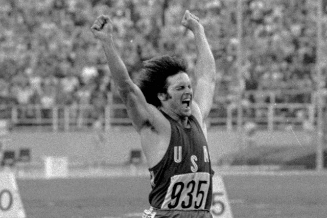 Bruce Jenner a remporté la médaille d'or au... (PHOTO ARCHIVES ASSOCIATED PRESS)