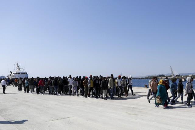 Jusqu'à maintenant, cette année, des centaines de milliers... (Photo Antonio Parrinello, archives Reuters)