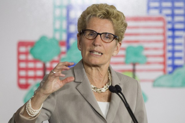 Kathleen Wynne a souligné le travail de la commission,... (PHOTO ARCHIVES LA PRESSE CANADIENNE)