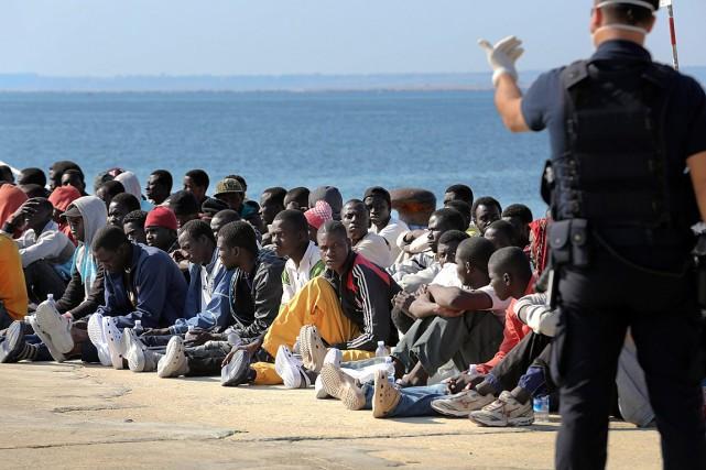 Alors que le pays héberge déjà quelque 84... (Photo Francesco Malavolta, AP)