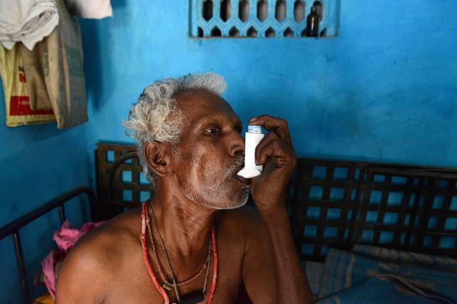 «J'ai progressivement perdu du poids, je ne pouvais... (PHOTO SAM PANTHAKY, AFP)