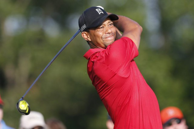 Tiger Woods a déclaré que le fait qu'il occupait... (PHOTO BRIAN SPURLOCK, USA TODAY)