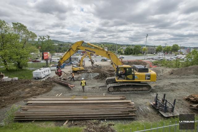 Le premier IGA Express à Sherbrooke sera bâti... (IMACOM, Frédéric Côté)