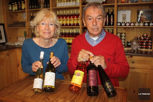 Les propriétaires du vignoble les Côtes du gavet,... (La Tribune, Yanick Poisson)