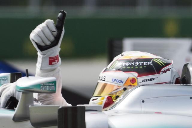 Lewis Hamilton... (La Presse Canadienne)