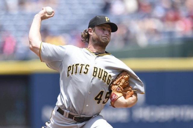 Gerrit Cole... (Photo Dale Zanine, USA TODAY Sports)