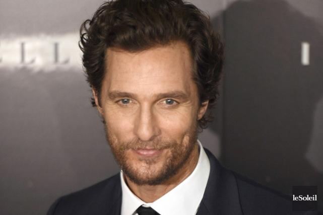 Matthew McConaughey... (Photothèque Le Soleil)
