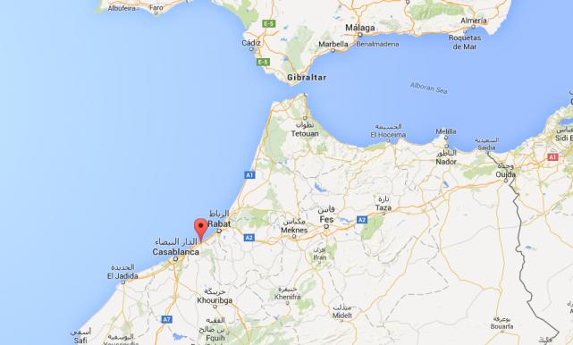 Onze adolescents se sont noyés dans l'Atlantique lors d'une sortie à la plage... (Plan Google)