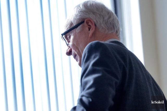 L'ex-maire de Saint-Augustin Marcel Corriveau n'a pas rappelé... (Photothèque Le Soleil, Jean-Marie Villeneuve)