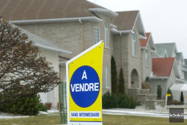 Ces dernières années, le prix des maisons a... (Photothèque Le Soleil)