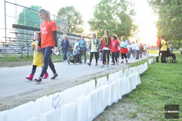 Ils étaient plus de 850 participants lors du... (Photo: Émilie O'Connor, Le Nouvelliste)