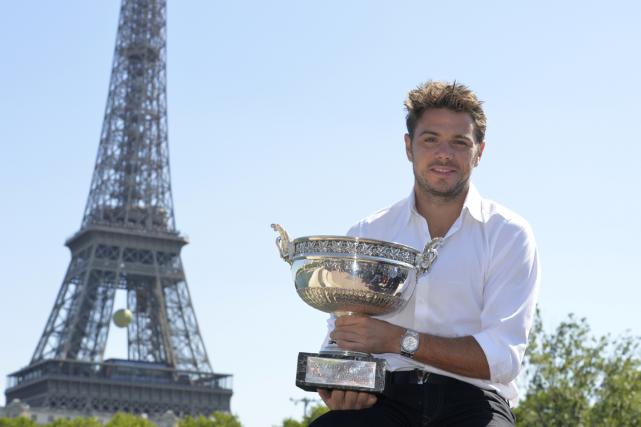 Au lendemain de sa victoire à Roland-Garros, Stanislas... (Photo Miguel Medina, AFP)