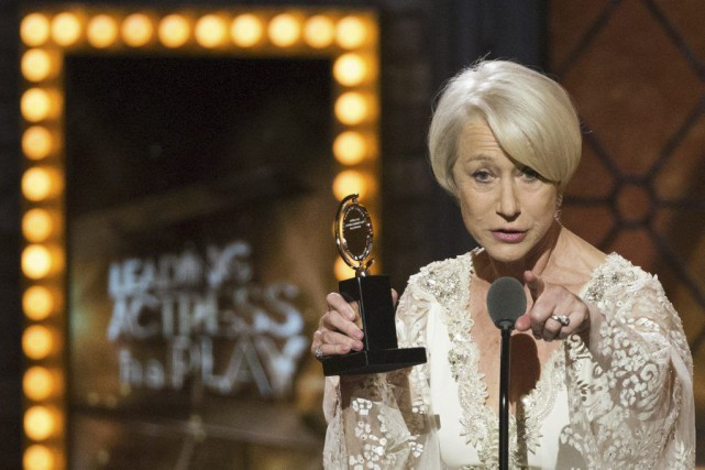 La comédienne britannique Helen Mirren a remporté le... (PHOTO LUCAS JACKSON, REUTERS)