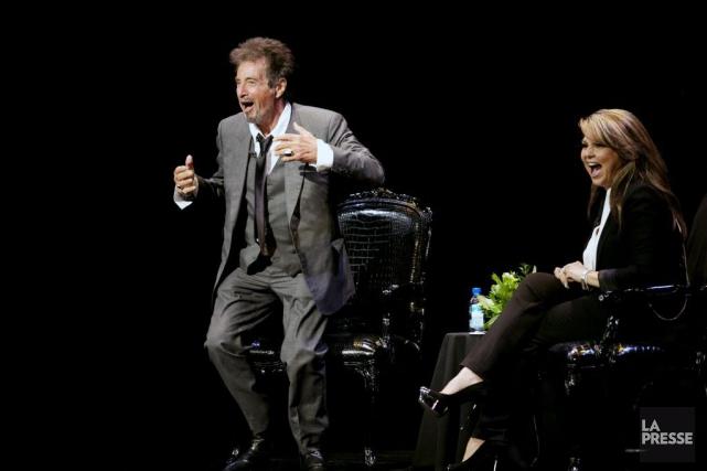 Pendant plus de deux heures, Al Pacino a... (PHOTO OLIVIER JEAN, LA PRESSE)