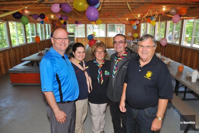 Michel Day, président du Club Lion de Trois-Rivières,... (Photo: Émilie O'Connor, Le Nouvelliste)