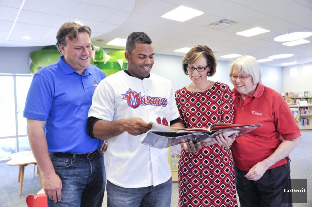 L'équipe de baseball de la Ligue Can-Am, les Champions d'Ottawa, annonçait... (Martin Roy, LeDroit)