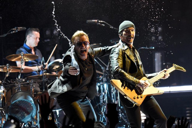U2 se produira au Centre Bell les 12, 13,... (PHOTO RICH FURY, AP)