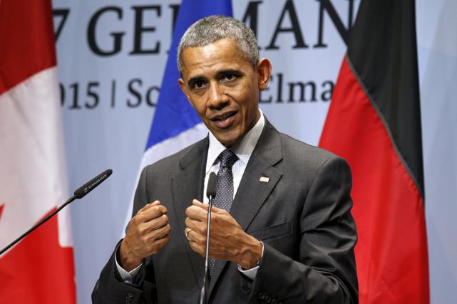 Le président américain Barack Obama.... (Photo Kevin Lamarque, Reuters)