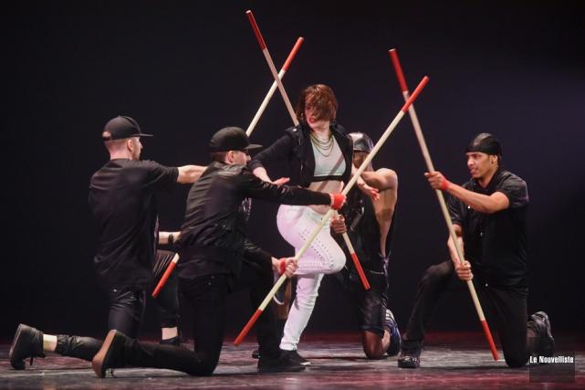 Le danseur trifluvien François Pruneau était de la... (Photo: François Gervais, Le Nouvelliste)