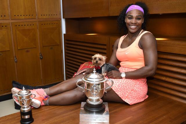 Serena Williams a remporté les deux premiers tournois... (Photo Corinne Dubreuil, AFP)