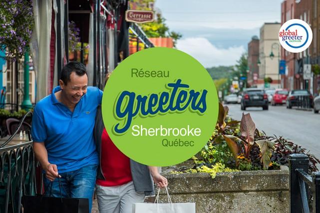 Sherbrooke innove cet été en devenant la première ville de la province, et la... (Photo tirée du site www.sherbrookegreeters.com)