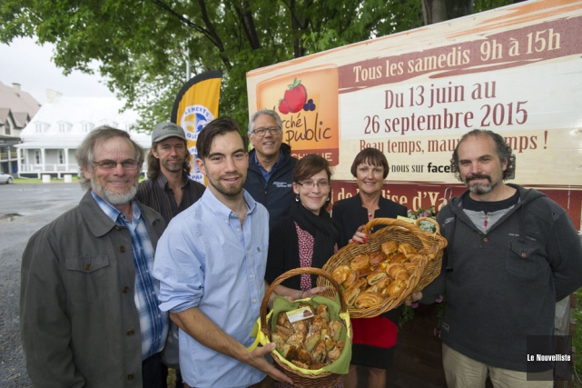 Sur la photo: Michel Isabelle, maire de Yamachiche,... (Photo: Stéphane Lessard, Le Nouvelliste)