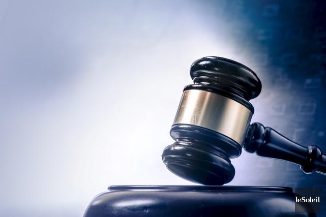 Alex Gaudet-Martel a reçu sa sentence, hier, au palais de justice de La Tuque... (Photothèque Le Soleil)