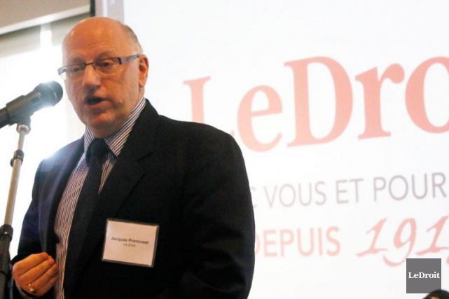 Jacques Pronovost... (Archives Le Droit)