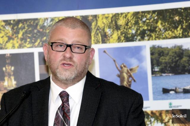 Sylvain Juneau a été élu maire de Saint-Augustin-de-Desmaures,... (Le Soleil, Jean-Marie Villeneuve)