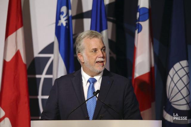 Le premier ministre du Québec, Philippe Couillard.... (Photo Martin Chamberland, La Presse)