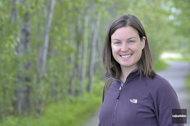Josianne Lalande, chargée de projet pour le comité... ((Photo Le Quotidien-Rocket Lavoie))