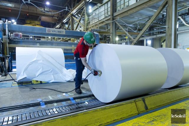 L'usine de Dolbeau-Mistassini de Résolu fermera pendant dix... (Photothèque Le Soleil)
