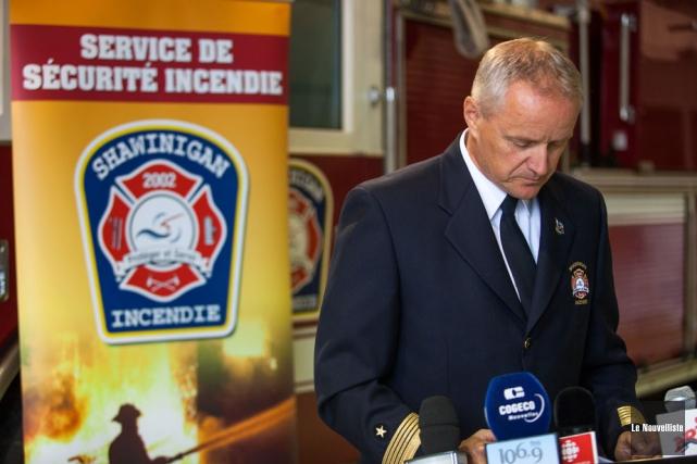 Le Service de sécurité incendie de Shawinigan est... (Photo: Olivier Croteau, Le Nouvelliste)