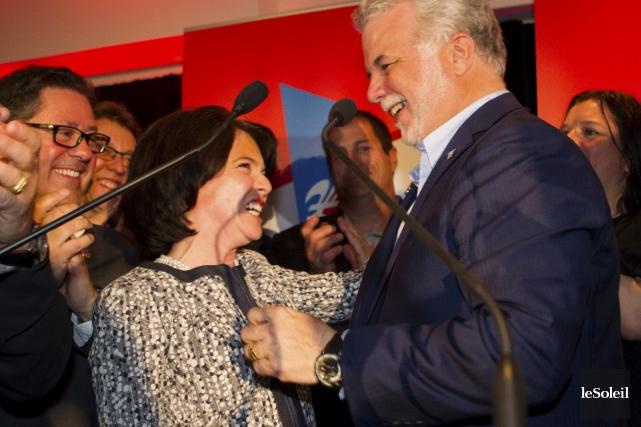 La nouvelle députée de Chauveau, Véronyque Tremblay, a... (Le Soleil, Caroline Grégoire)