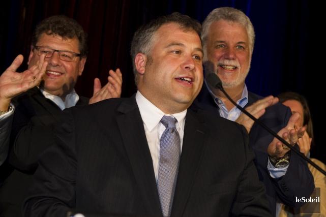 Dans Jean-Talon, c'est Sébastien Proulx, l'ancien élu adéquiste,... (Le Soleil, Caroline Grégoire)