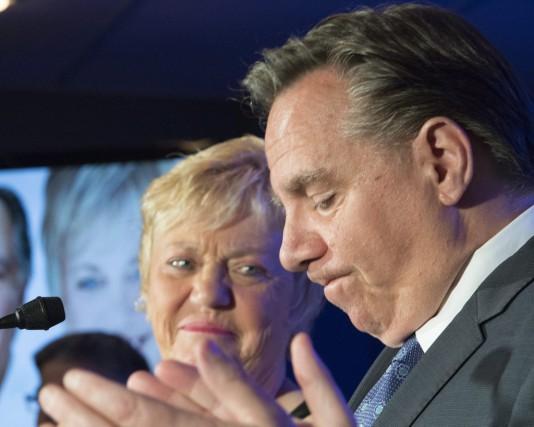 François Legault a fait une belle campagne, mais... (Jacques Boissinot, La Presse Canadienne)