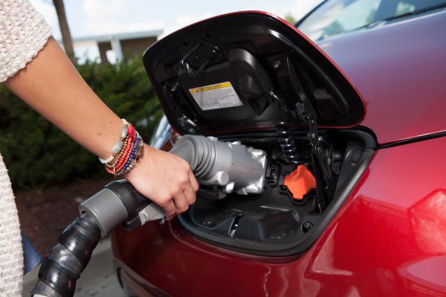 L'augmentation de capacité devrait donner aux Leaf SV... (Photo fournie par Nissan)